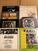 Vinyl: 7 Family LPs including Music In A Doll's House (with insert) Entertainment (with large