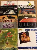 "14 Velvet Underground / Lou Reed / Nico LPs including ""Velvet Underground featuring Nico"", """