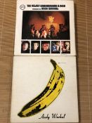 2 Velvet Underground & Nico items including an original US gatefold sleeve (cover only, no record)