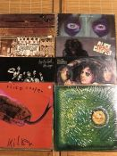 "8 Alice Cooper LPs including ""School's Out"", ""Killer"" (with calendar), ""Love It To Death"" and """