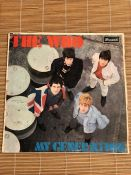 "Vinyl: The Who ""My Generation"" LP. UK original mono pressing on the Brunswick label LAT 8616."