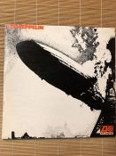 "Led Zeppelin ""Led Zeppelin"" LP. Original 1969 pressing on the Atlantic label 588171 with the"