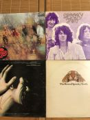 "4 Spooky Tooth LPs. UK pressing including ""Sppoky Tooth"" (pink rim), ""Spooky Two"" (pink eyeball) and"