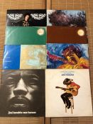 "8 Jimi Hendrix LPs including ""Are You Experienced/Axis Bold As Love"", ""The Cry Of Love"", ""War"
