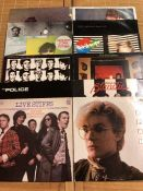 "12 Punk & New Wave LPs/12"" including albums by New Order, The Stranglers, Siouxsie & The Banshees"
