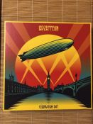 "Led Zeppelin ""Celebration"" 3LP box set with booklet."
