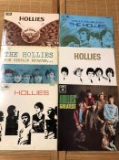 6 Hollies LPs including For Certain Because, Butterfly and Would You Believe. All UK original