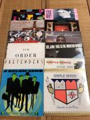 "Vinyl: 12 Punk & New Wave LPs/12"" including albums by New Order, The Jam, The Stranglers and Nine"