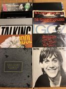 "12 Punk & New Wave LPs/12"" including records by The Clash, New Order, Joy Division, Talking Heads,"