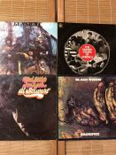 "4 original UK pressings on the CBS label including Gun ""Gunsight"", Al Stewart ""Bedsitter Images"","