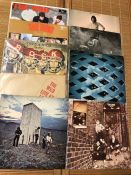 9 The Who LPs including Tommy, Who's Next, Direct Hits, Quadrophenia and Live At Leeds (with 12