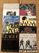 "12 Punk & New Wave LPs/12"" including records by Joy Division, Talking Heads, Sex Pistols and Depeche"