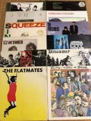 "12 Punk & New Wave LPs/12"" including albums by The Clash, The Ruts, Les Thugs, Dinosaur, Mega City"