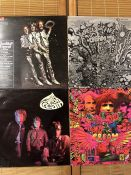 "4 Cream LPs including ""Disraeli Gears"" UK orig mono pressing on the Reaction label 593 003, ""Fresh"
