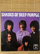 "Deep Purple ""Shades Of Deep Purple"" LP. UK orig mono first pressing on the yellow & black Parlophone"