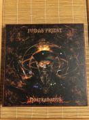 """Judas Priest """"Nostradamus"""" 3LP / 2CD box set."""