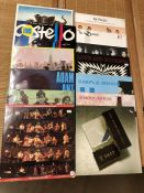 "Vinyl: 12 Punk & New Wave LPs/12"" including albums by Talking Heads, Elvis Costello and Simple Minds"