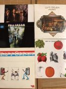 "5 Cream LPs including ""Cream On Top"" which was a mail-order only release, ""Live Cream II"", ""Full"