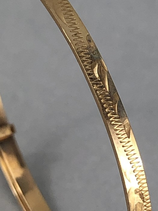 9ct Gold 375 hallmarked Childs Christening bracelet (total weight approx 3g) - Image 2 of 5