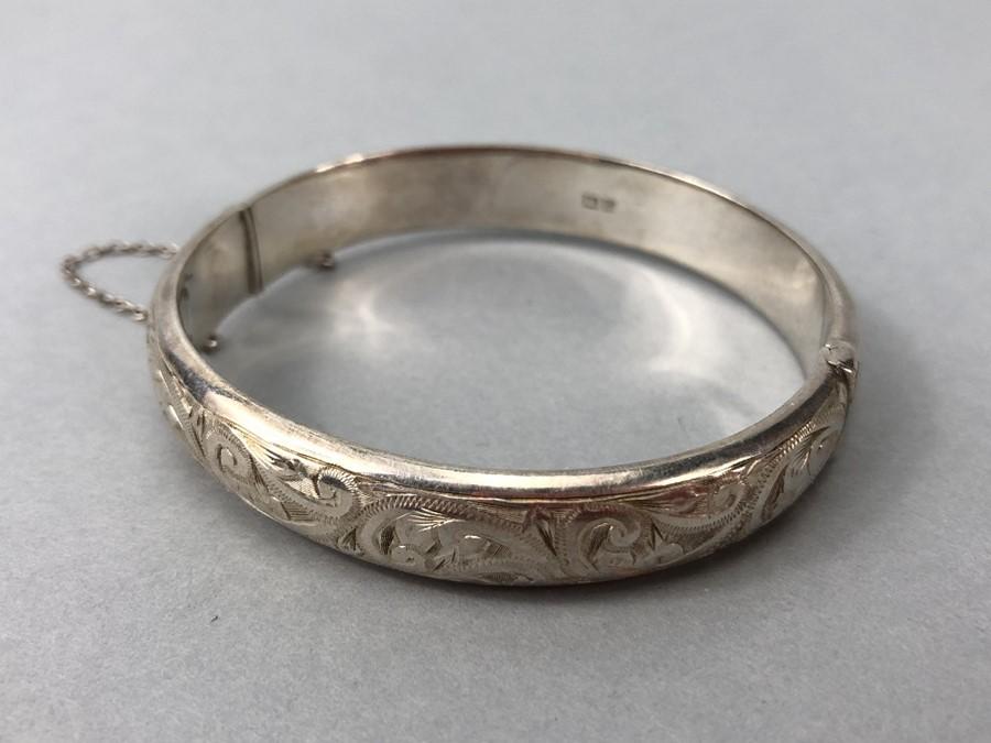 "Silver Birmingham hallmarked bracelet maker ""L & Co"""