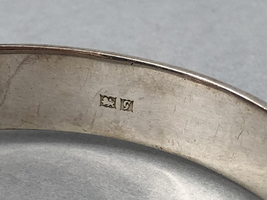 "Silver Birmingham hallmarked bracelet maker ""L & Co"" - Image 3 of 4"