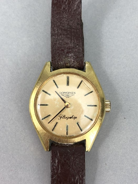 Collection of vintage watches to include: Zodiac, Mondia, Heno, Benrus & Longines - Image 6 of 6