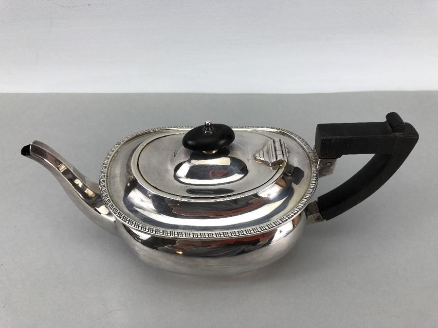 Silver Hallmarked Edwardian Teapot Birmingham 1903, Williams (Birmingham) Ltd approx. 407g - Image 2 of 6