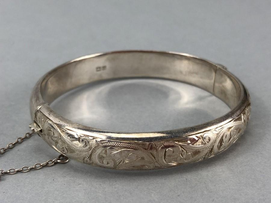 "Silver Birmingham hallmarked bracelet maker ""L & Co"" - Image 4 of 4"