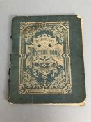 """RARE Childrens book. BOOK DATED 1859: Bibliography: A very rare copy of the book """"THE CHILD'S OWN"""
