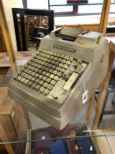 Burroughs counting machine (A/F)