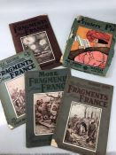 The Bystander's Fragments from France by Captain Bruce Bairnsfather, along with Fragments From