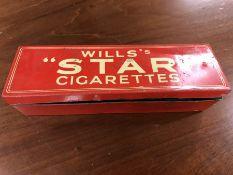 "Vintage WILLS's ""STAR"" Cigarettes Dominoes in original Vintage Tin"