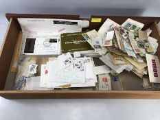 Large Quantity of stamps and First day covers (many from Canada)