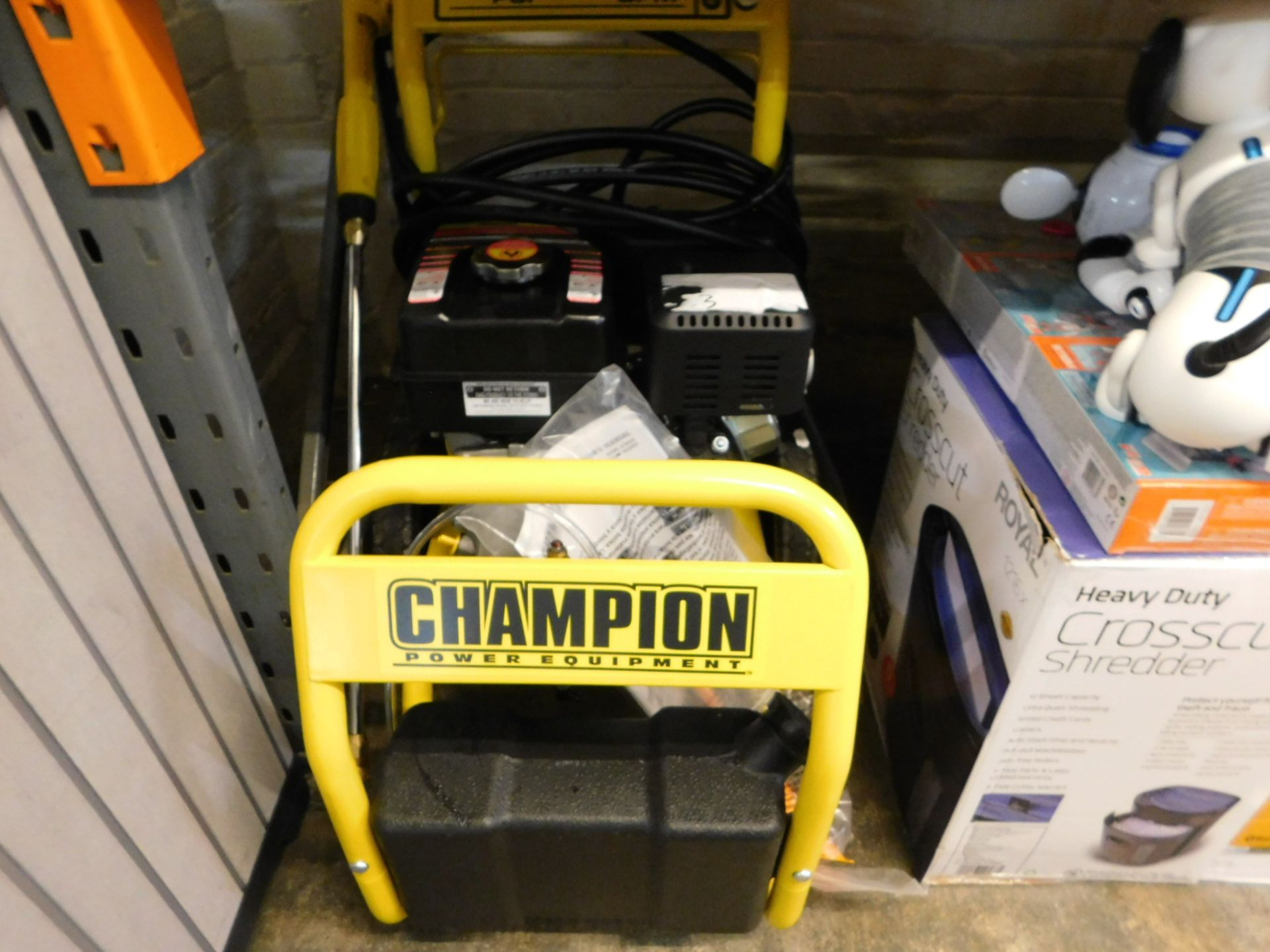 Lot 844 - 1 CHAMPION 3000 PSI PETROL HIGH PRESSURE WASHER RRP £499 (LIKE NEW CONDITION)