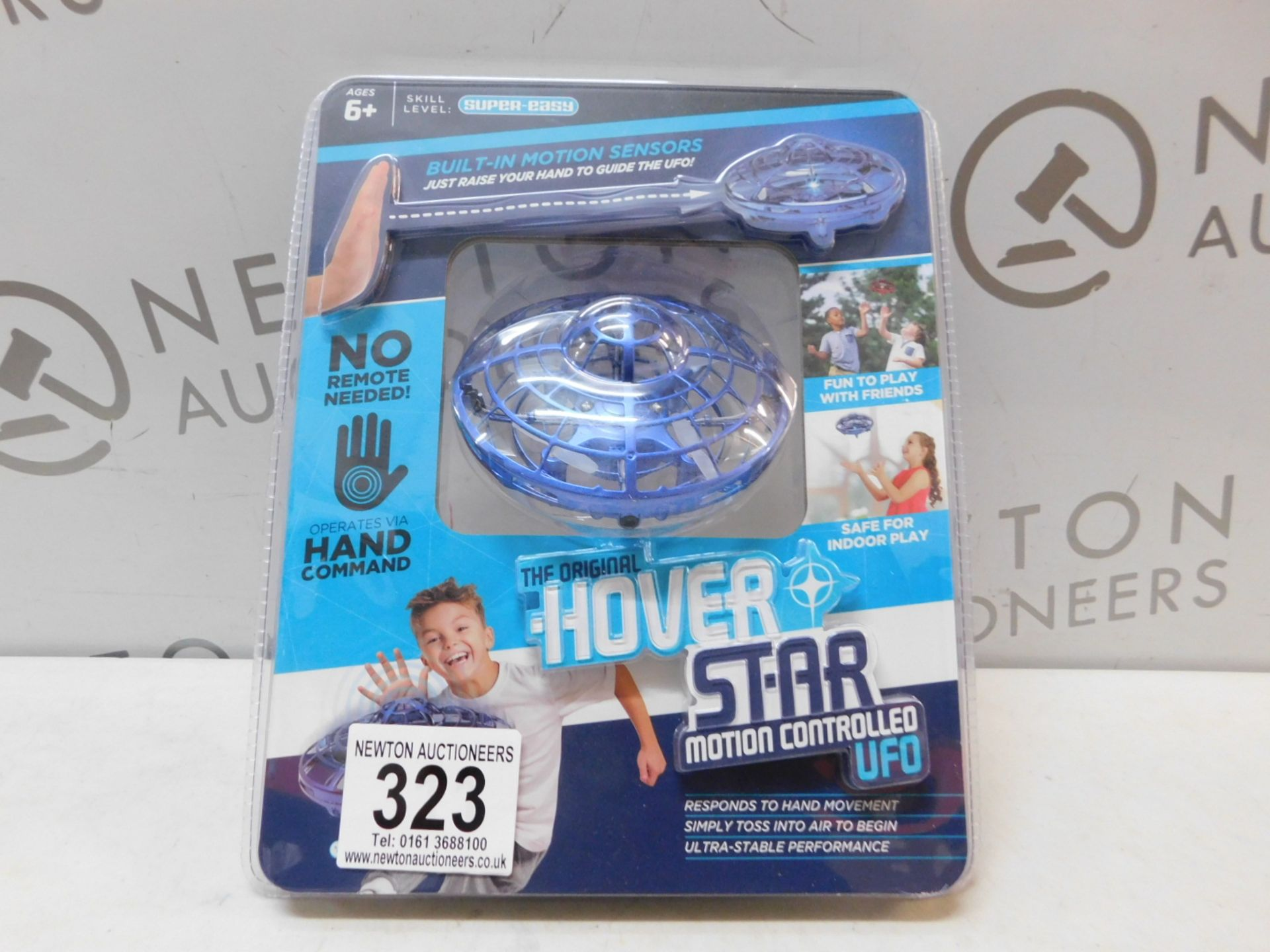 Lot 323 - 1 PACK OF THE ORIGNAL HOVER STAR MOTION CONTROLLED UFO RRP £39.99