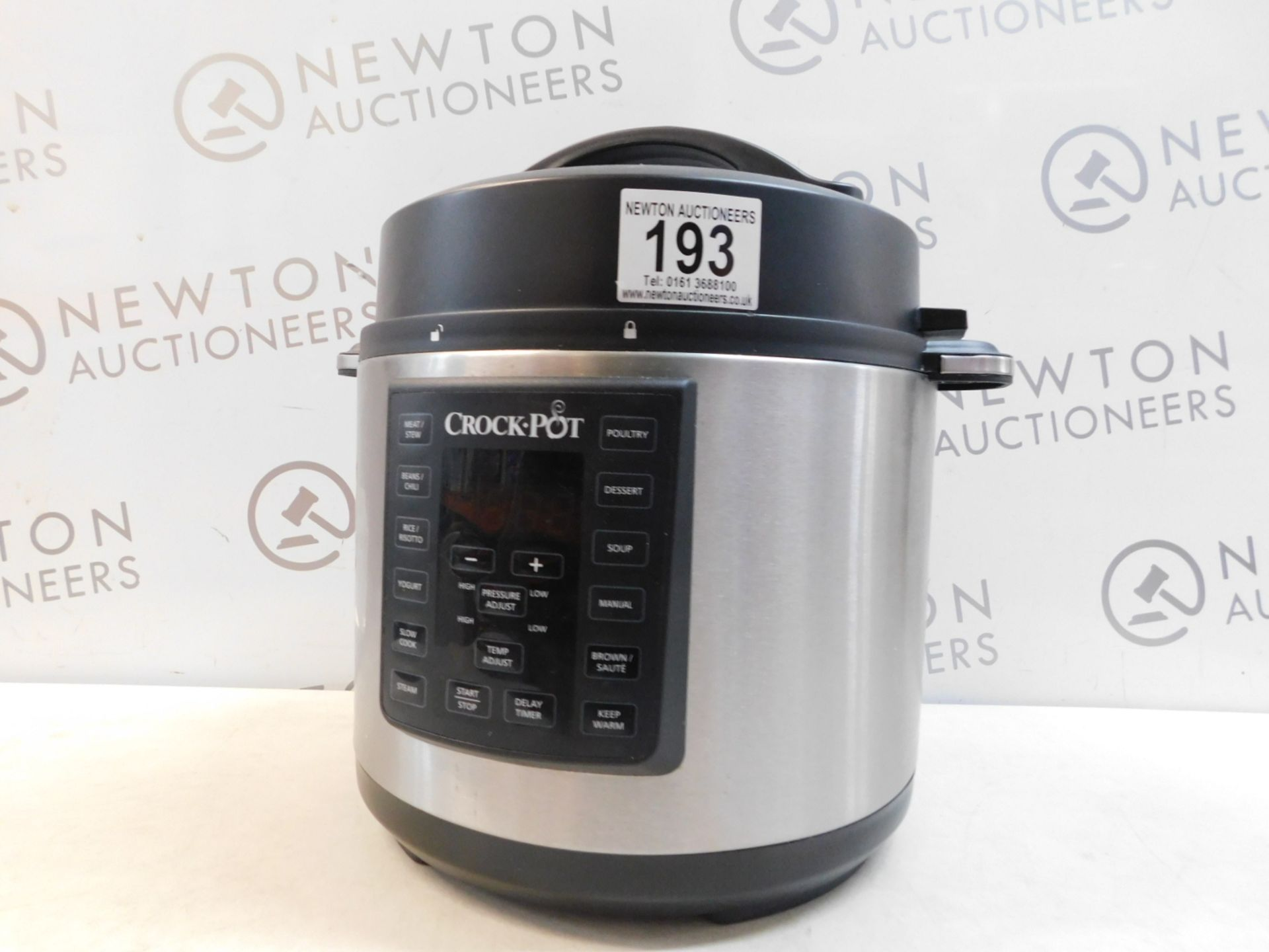 Lot 193 - 1 CROCK-POT 5.6L EXPRESS MULTI-COOKER RRP £89.99