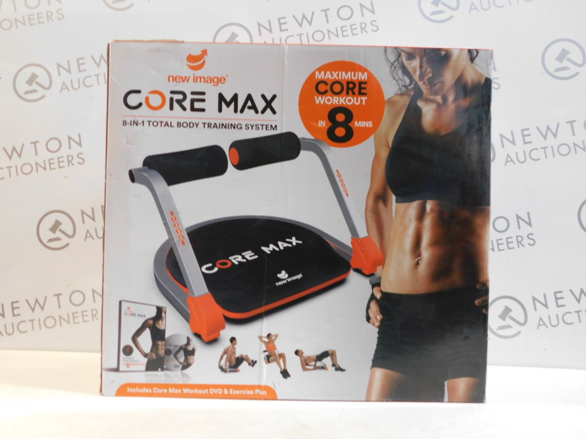 Lot 527 - 1 BOXED IMAGE CORE MAX 8 IN 1 TOTAL BODY TRAINING SYSTEM RRP £79.99
