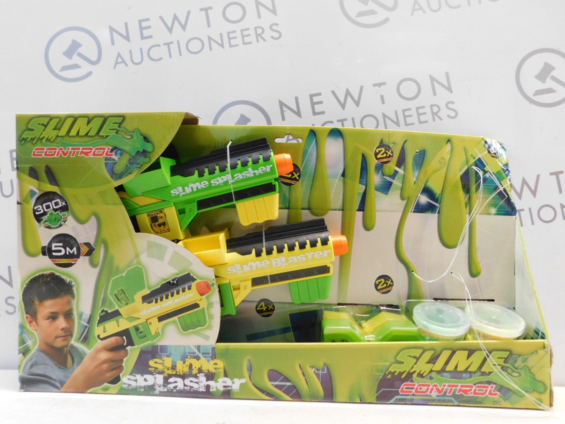 Lot 129 - 1 BOXED SLIME CONTROL 2K SLIME SPLASHER BLASTER RRP £44.99