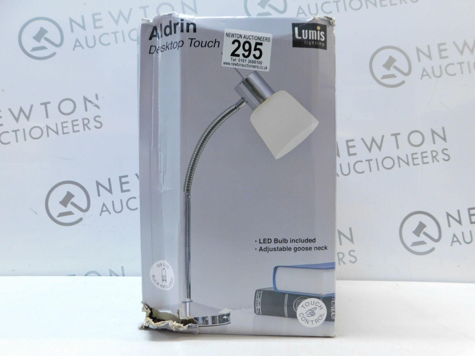 Lot 295 - 1 BOXED LUMIS LIGHTING ALDRIN DESKTOP TOUCH LIGHT RRP £29.99