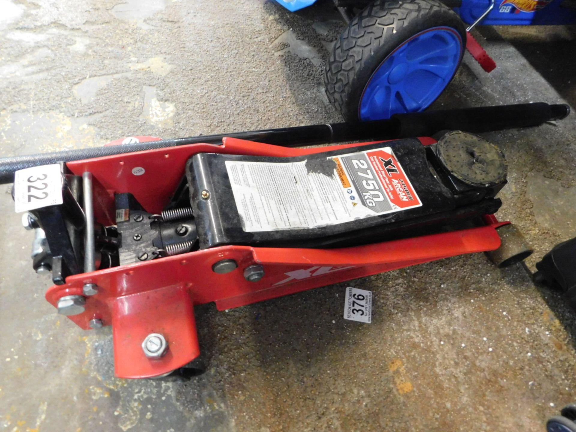Lot 322 - 1 ARCAN XL2750EU 2750KG STEEL SERVICE JACK RRP £199
