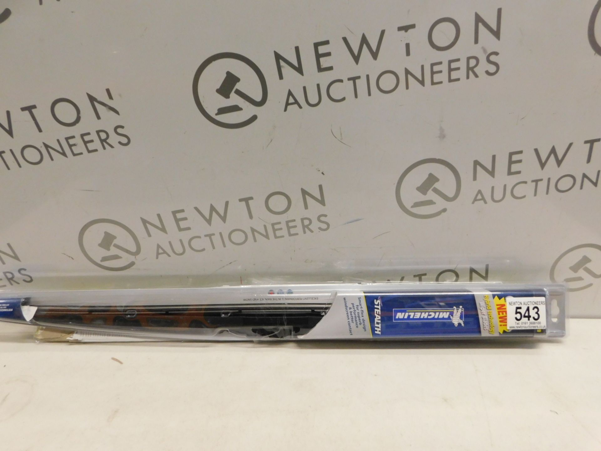 Lot 543 - 2 PACKS OF MICHELIN STEALTH WIPER BLADES IN VARIOUS SIZES RRP £39.99