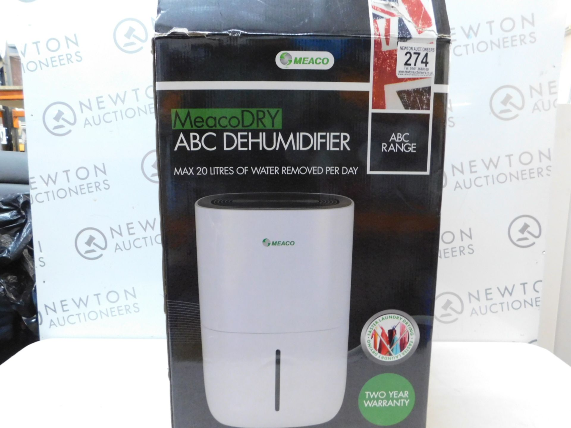 Lot 274 - 1 BOXED MEACODRY ABC DEHUMIDIFIER RRP £159.99
