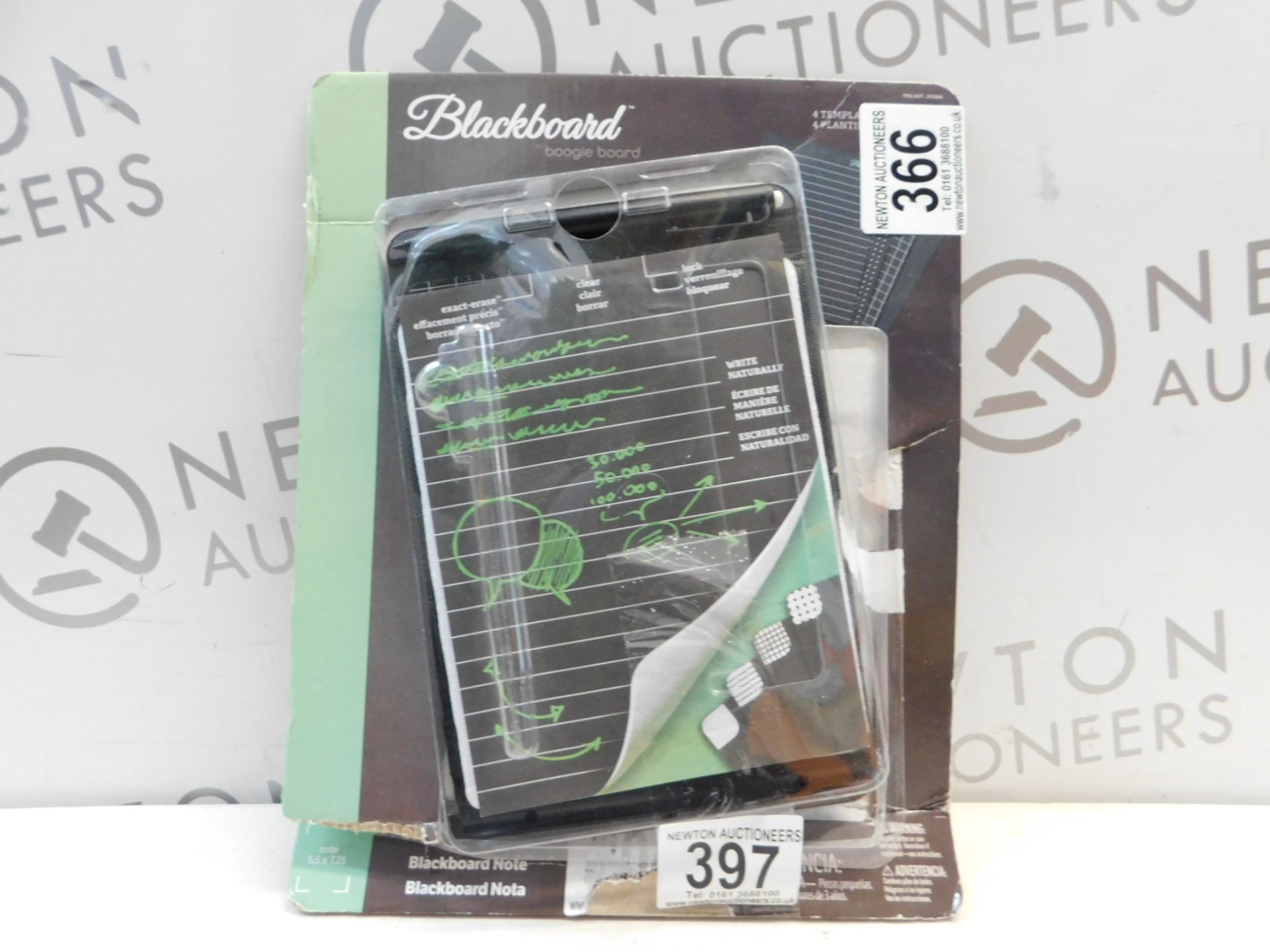 Lot 397 - 1 PACK OF DASHBOARD BOOGIE BOARD RRP £24.99