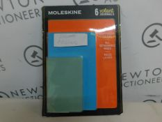 1 PACK OF 5 MOLESKIN VOLANT JOURNALS RRP £29.99