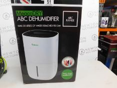 1 BOXED MEACODRY ABC DEHUMIDIFIER RRP £159.99