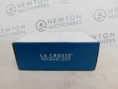 1 BOXED LA CROSSE TECHNOLOGY COLOUR MOOD LIGHT ALARM CLOCK RRP £44.99