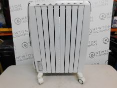 1 DELONGHI DRAGON 4S ELECTRIC OIL FILLED RADIATOR RRP £149.99