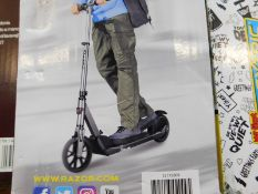 1 BOXED RAZOR E-PRIME FOLDING ELECTRIC SCOOTER WITH CHARGER RRP £399