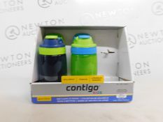 1 BOXED SET OF 2 AVEX KIDS CONTIGO DRINKS BOTTLES RRP £24.99