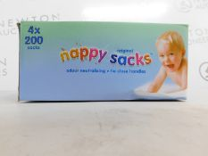 1 BOXED ORIGINAL NAPPY SACKS RRP £19.99